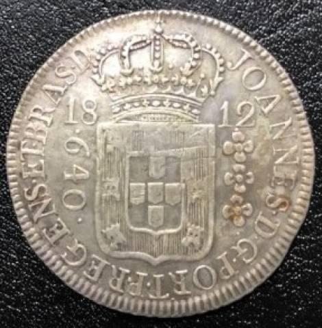 Catálogo Vieira Nº 295 - 640 Réis 1812R