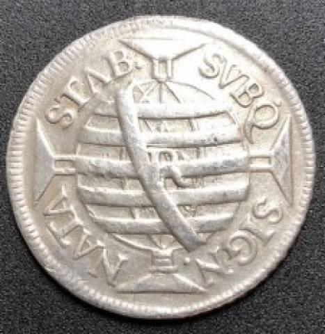 Catálogo Vieira Nº 130 - 600Réis 1756R - Série J - Numismática Vieira
