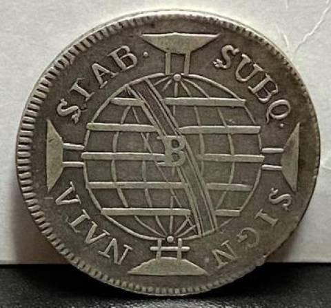 Catálogo Vieira Nº 281 640 Réis 1804B - Numismática Vieira