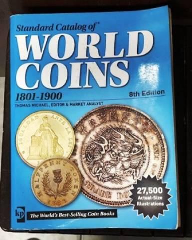 Catálogo World Coins 1801 a 1900 8º Edição - Numismática Vieira