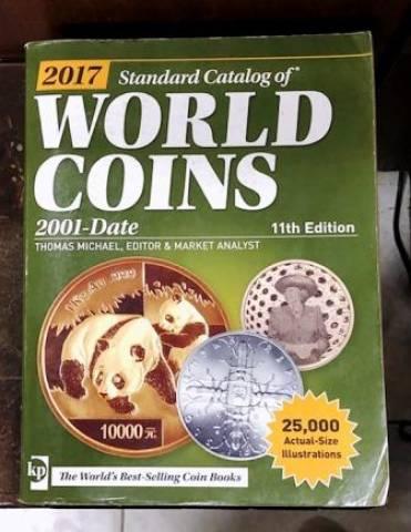 Catálogo World Coins 2001 a 2017 11º Edição - Numismática Vieira