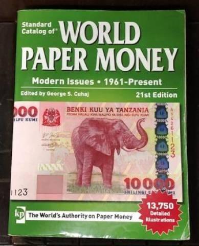 Catálogo World Paper Money 1961 a Present  21º Edição. - Numismática Vieira