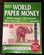 Catalogo World Paper Money 1961 a Present  21o Edicao