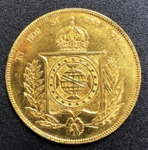 catálogo Vieira Nº 622 20.000 Réis 1855 - Numismática Vieira