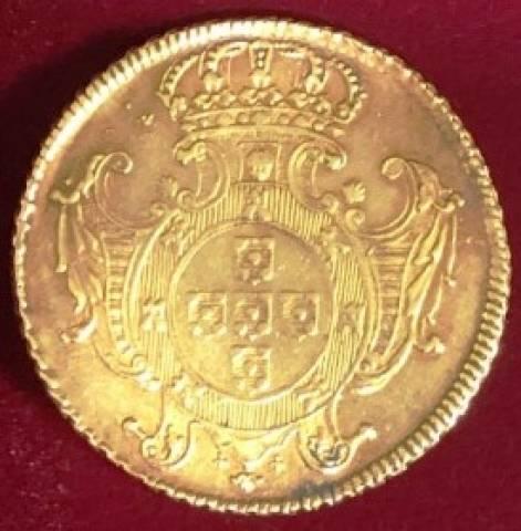 Catálogo Vieira Nº 116 12.800 Réis 1731R - Numismática Vieira