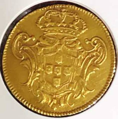 Catálogo Vieira Nº 155 - 3.200 Réis 1749R D. João V - Numismática Vieira