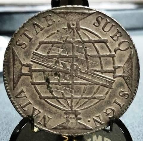 Catálogo Vieira Nº 297 640 Réis 1814R - Numismática Vieira