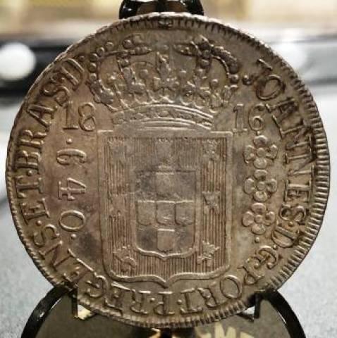 Catálogo Vieira Nº 299 640 Réis 1816R - Numismática Vieira