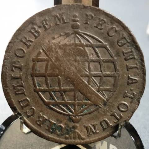 Catálogo Vieira Nº 297 X Réis 1787 - Numismática Vieira