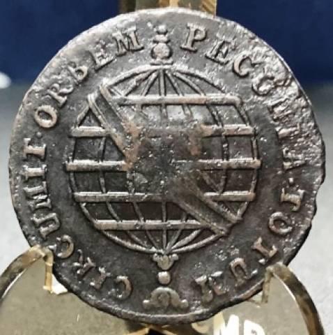 Catálogo Vieira Nº 317 X Réis c/c Escudete 1796 - Numismática Vieira