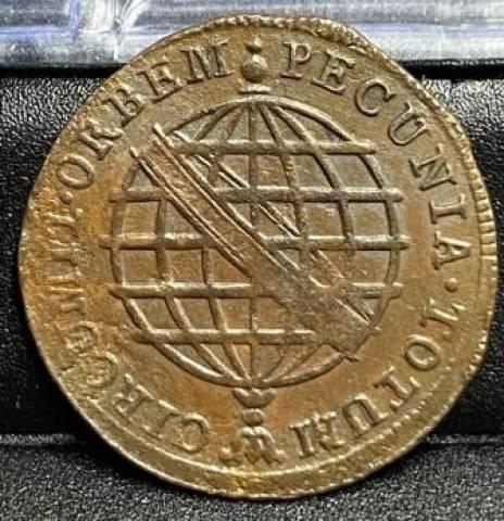 Catálogo Vieira Nº 374 X Réis 1805 Coroa Alta - Numismática Vieira