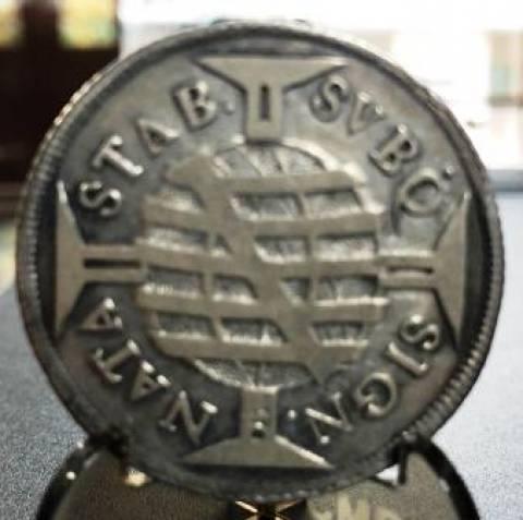 Catálogo Vieira Nº 014 640 Réis 1697 - Numismática Vieira