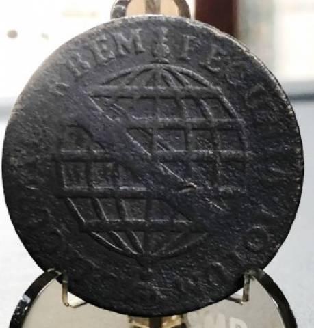 Catálogo Vieira Nº 187 XX Réis 1774 - Numismática Vieira