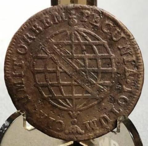 Catálogo Vieira Nº 234 X Réis 1784 - Numismática Vieira