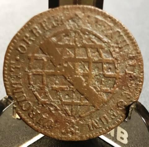 Catálogo Vieira Nº 300 V Réis 1786 - Numismática Vieira