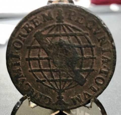 Catálogo Vieira Nº 078 XX Réis 1746 c/c Escudete  - Numismática Vieira