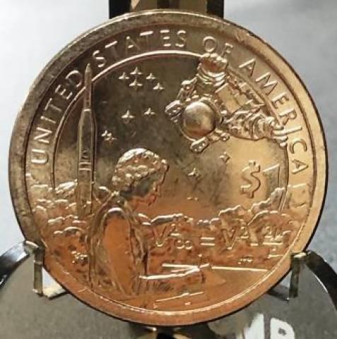 Moeda de 1 Dollar da Série Native American  - Numismática Vieira