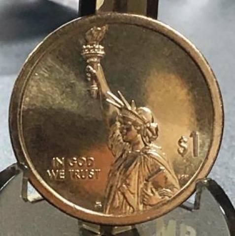 Moeda de 1 Dollar da Série American Innovation - Numismática Vieira