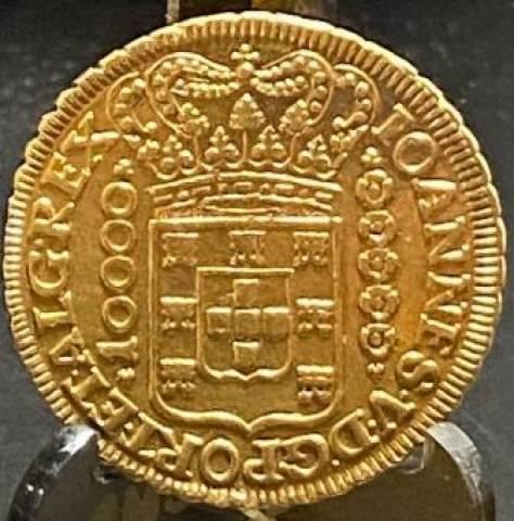 Catálogo Vieira Nº 095 10.000 Réis 1726 - Numismática Vieira