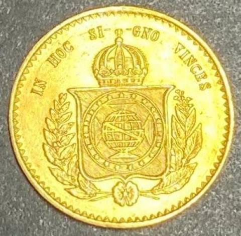 Catálogo Vieira Nº 618 20.000 Réis 1851 - Numismática Vieira