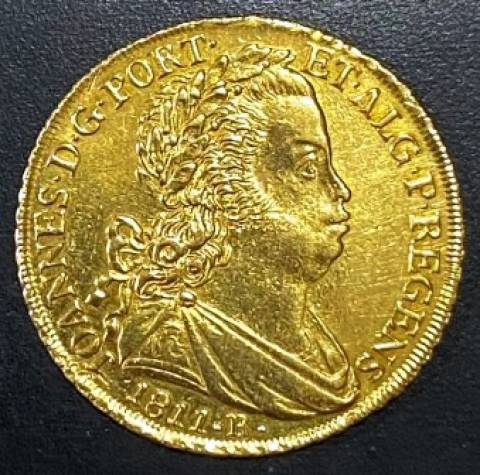 Catálogo Vieira Nº 532 6.400 Réis 1811R - Numismática Vieira