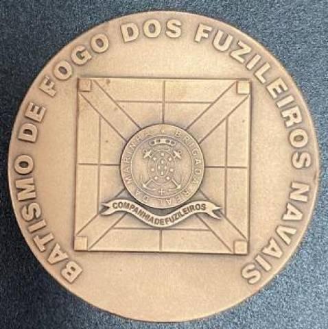 Medalha de Bronze 200 Anos Tomada de Caiena - Numismática Vieira
