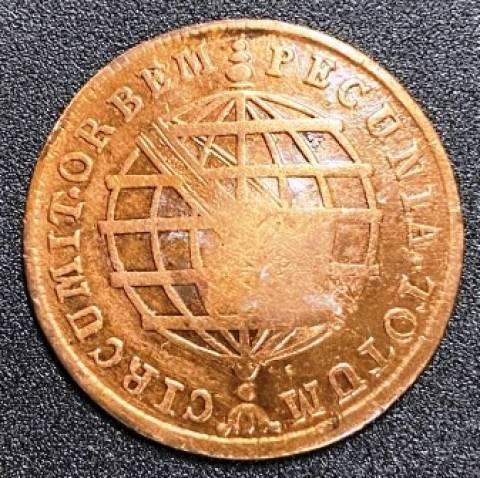 Catálogo Vieira Nº 315 - X Réis c/c Escudete 1787 - Numismática Vieira