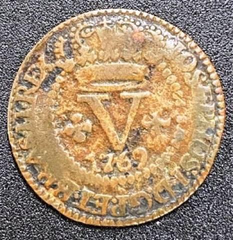 Catálogo Vieira Nº 154 - V Réis 1769B - Numismática Vieira