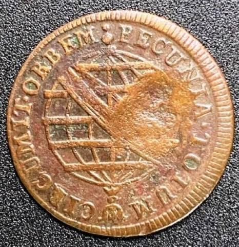 Catálogo Vieira Nº 351 - V Réis c/c Escudete 1790 - Numismática Vieira