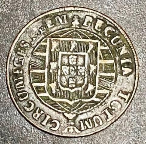 Catálogo Vieira Nº 497 - XL Réis 1820B - Numismática Vieira