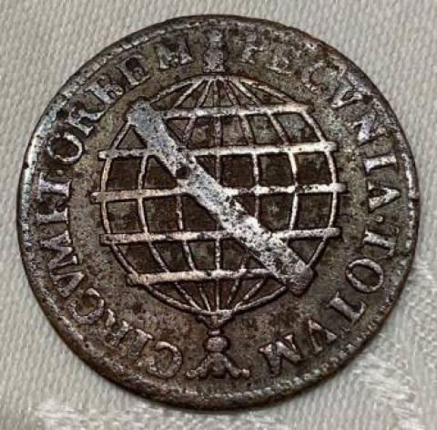 Catálogo Vieira Nº ´075 - XX Réis 1746 - Numismática Vieira