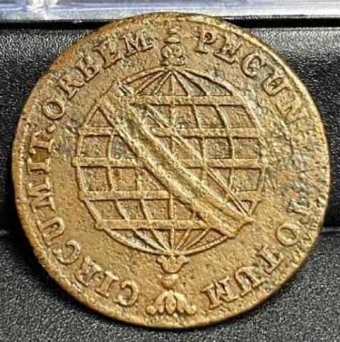 Catálogo Vieira Nº 364 - XX Réis 1802 - Numismática Vieira