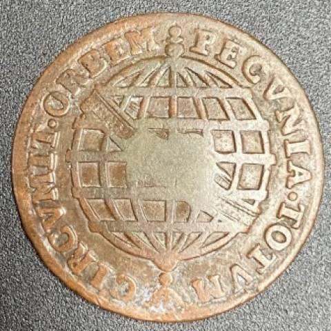 Catálogo Vieira Nº 118 - XXRéis c/c Escudete 1753 - Numismática Vieira