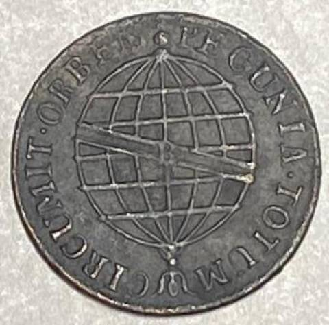 Catálogo Vieira Nº 402 - X Réis 1814R - Numismática Vieira