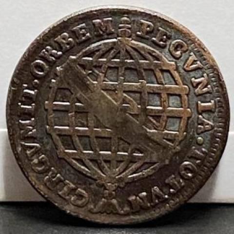 Catálogo Vieira Nº 115 - XL Réis c/c escudete 1753 - Numismática Vieira