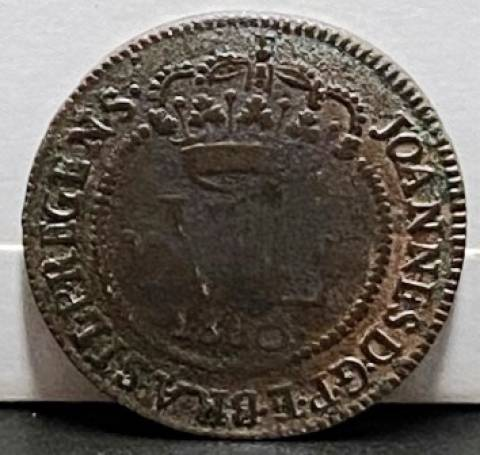 Catálogo Vieira Nº 419 - XL Réis 1810B - Numismática Vieira