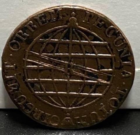 Catálogo vieira Nº 441 - 80 Réis 1813R - Numismática Vieira