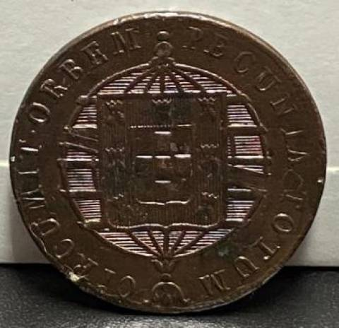 Catálogo Vieira Nº 466 - XL Réis 1818R - Numismática Vieira