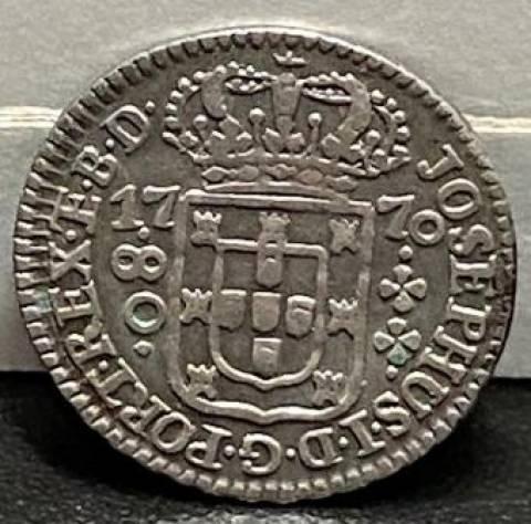 Catálogo Vieira Nº 194 - 80 Réis 1770 - Numismática Vieira