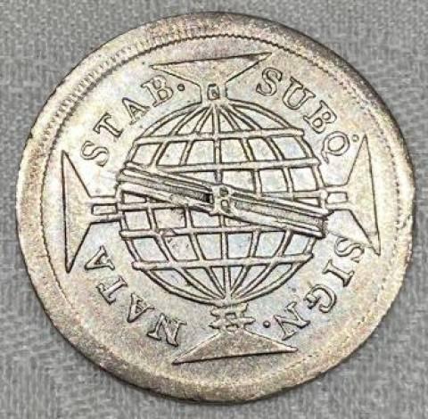 Catálogo Vieira N 305 160 Réis 1813R - Numismática Vieira
