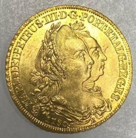 Catálogo Vieira Nº 431 - 6.400 Réis 1780R - Numismática Vieira