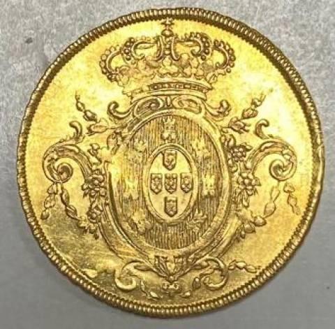 Catálogo Vieira Nº 528 - 6.400 Réis 1807R - Numismática Vieira