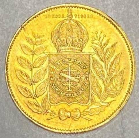 Catálogo Vieira Nº 617 - 20.000 Réis 1851