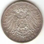 Alemanha - Bavaria Catálogo World Coins - KR. Nº 996