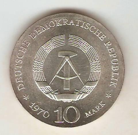 Alemanha Democratica - Catálogo World Coins - KR. Nº 27.1 - Numismática Vieira