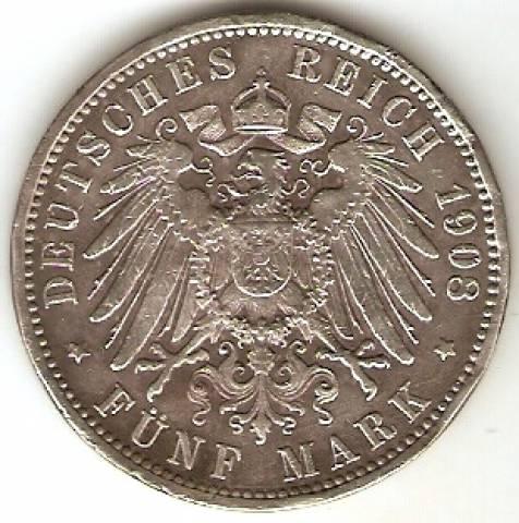 Alemanha Hamburg - Catálogo World Coins - KR. Nº 610 - Numismática Vieira