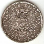 Alemanha Hamburg - Catálogo World Coins - KR. Nº 610