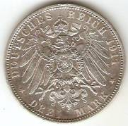 Alemanha Hamburg - Catálogo World Coins - KR. Nº  620