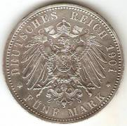 Alemanha Prussia   Catalogo World Coins   KR No 526