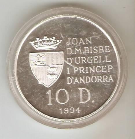 Andorra - Catálogo World Coins - KR. Nº 95 - Numismática Vieira